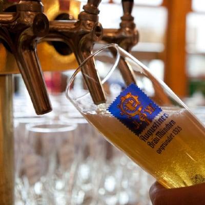 Gaststätte Freiland Portfolio, Bier