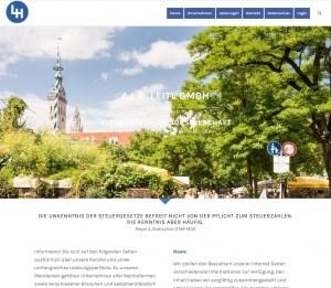Münchner Webdesign, für die Münchner Steuerkanzlei Alb-Leitl