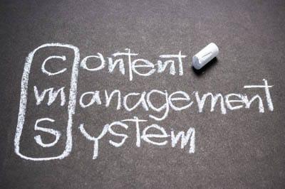 Leistungen, Content Management System