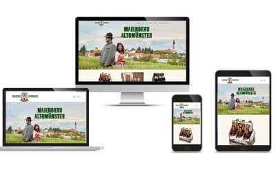 Leistungen Webdesign München, responsives Webdesign